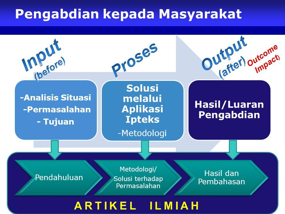Pengabdian kepada Masyarakat 3 ARTIKEL ILMIAH