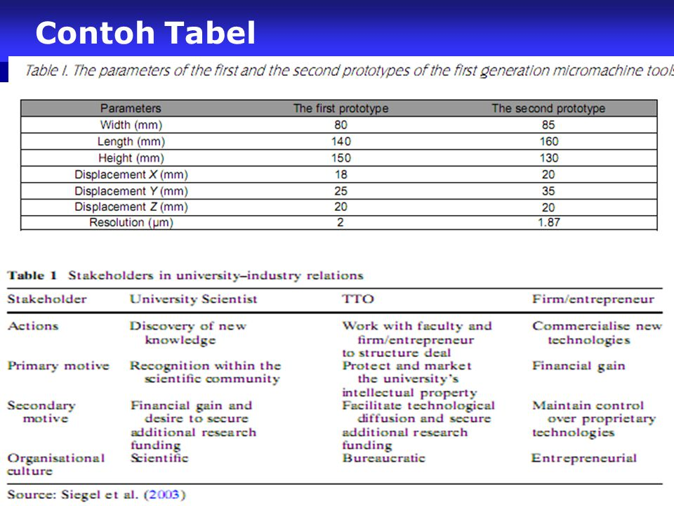 Contoh Tabel 60
