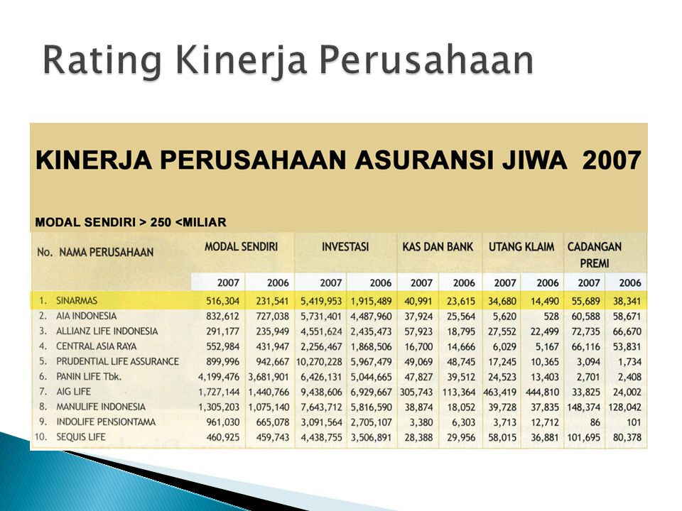 Bisnis utama :  Sinarmas financial services  Sinarmas pulp and paper product.