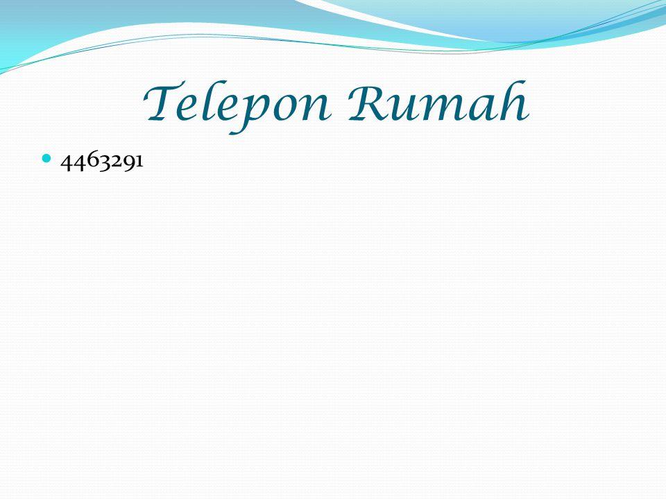 Telepon Rumah 4463291