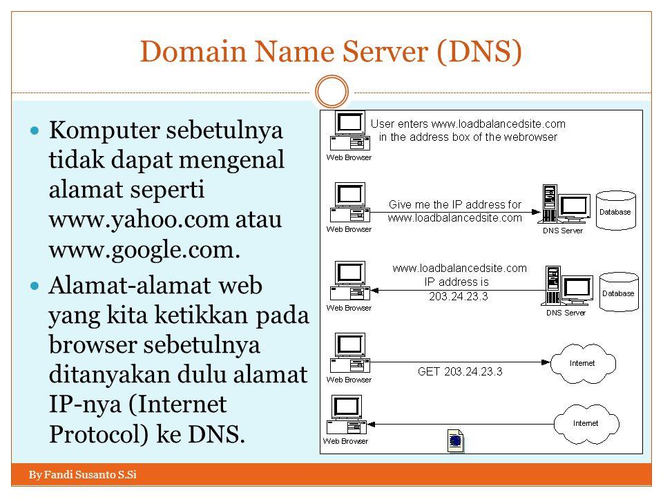 Client Server pada web By Fandi Susanto S.Si Yang mana biasanya digambarkan secara singkat seperti pada gambar di bawah: