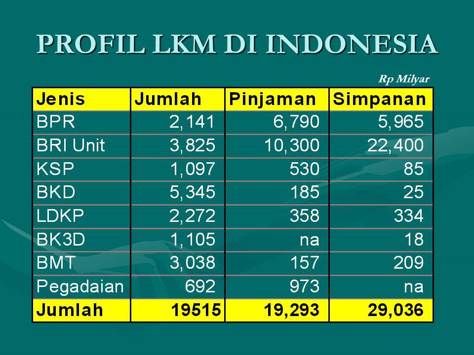 PROFIL LKM DI INDONESIA Rp Milyar