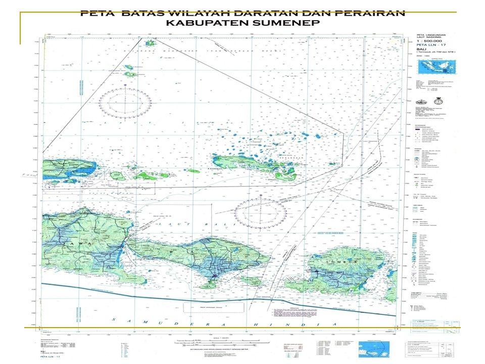 LETAK GEOGRAFIS Berdasarkan Peraturan Bupati Nomor 11 Tahun 2006 Kabupaten Sumenep terletak diujung Timur Pulau Madura, yang secara Geografis terletak antara : 113° 32´ 54 - 116° 16´ 48 BT 4° 55´ - 7° 24´ LS