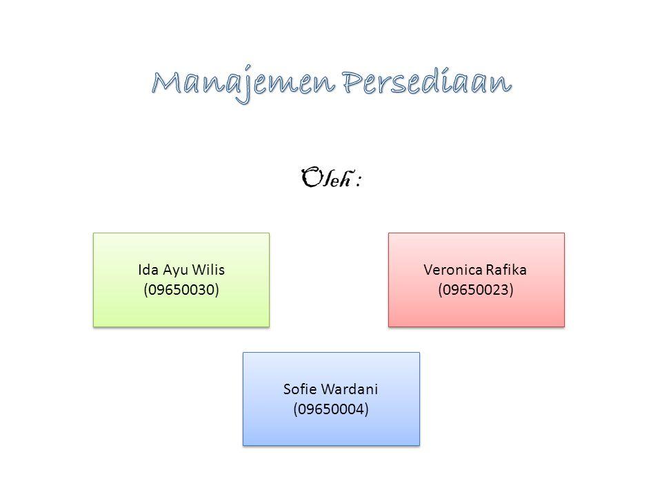 Oleh : Veronica Rafika (09650023) Veronica Rafika (09650023) Ida Ayu Wilis (09650030) Sofie Wardani (09650004) Sofie Wardani (09650004)