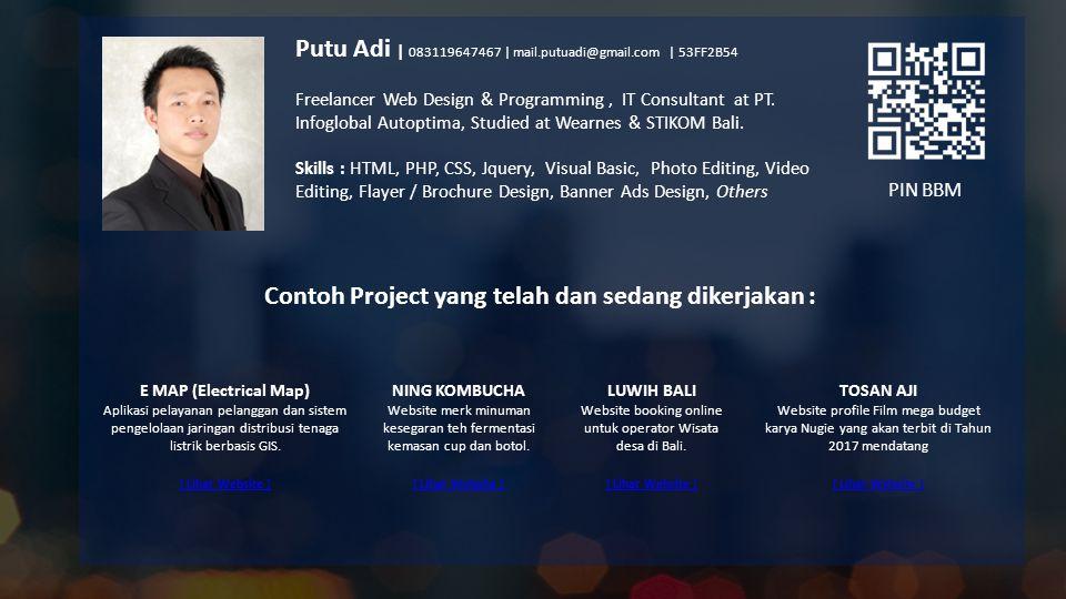 Paket Company Profile Fasilitas yang didapatkan : - Professional layout & Responsive design - Bahasa pemrogramman PHP dan HTML5.