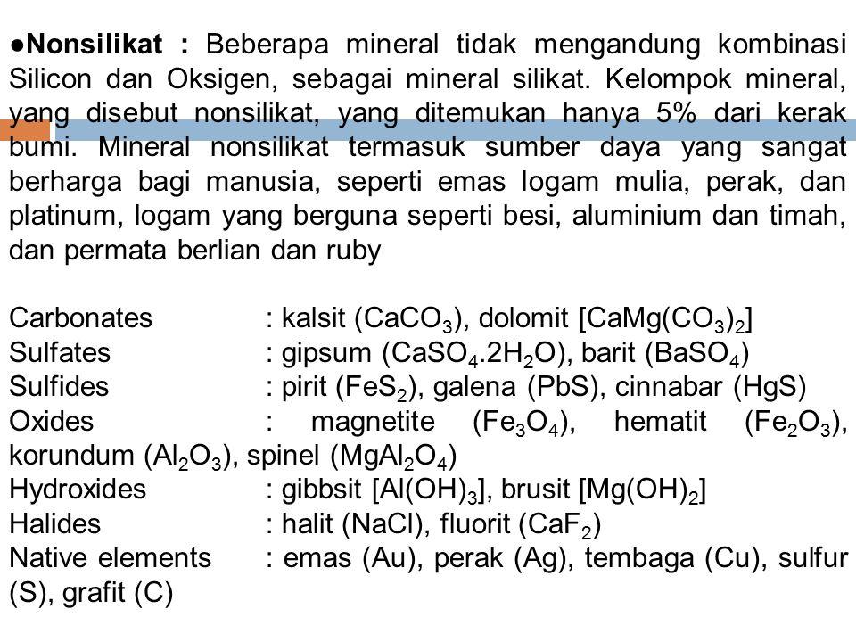 Jenis-jenis batuan : beku, sedimen dan malihan/metamorfik BATUAN BEKU (igneous rock) : adalah batuan yang terbentuk karena pembekuan dan kristalisasi ketika terjadi pendinginan magma (igneous berasal dari bahasa Latin ignis, berarti api).