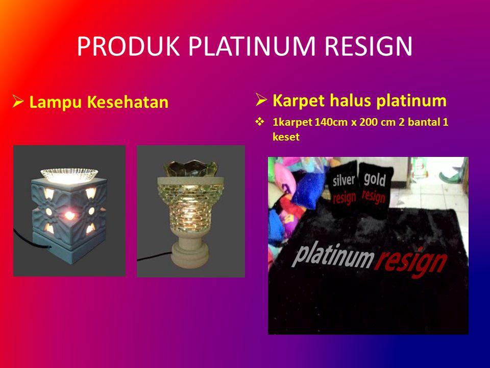 PRODUK PLATINUM RESIGN  Lampu Kesehatan  Karpet halus platinum  1karpet 140cm x 200 cm 2 bantal 1 keset COMING SOON