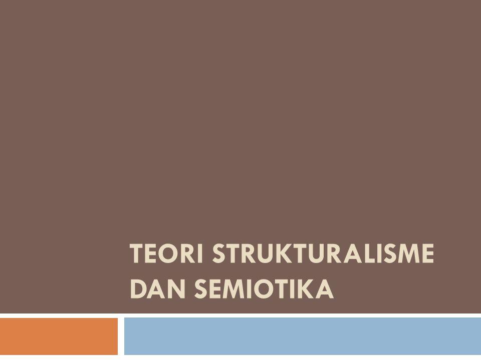 Strukturalisme secara khusus mengacu kepada praktik kritik sastra yang mendasarkan model analisisnya pada teori linguistik modern.