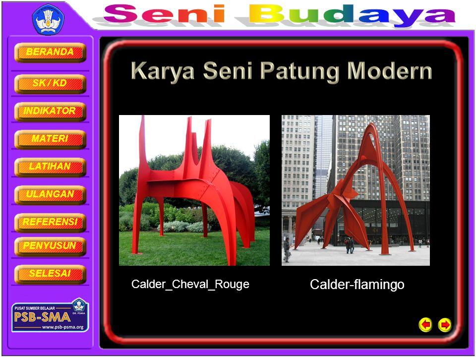 BERANDA SK / KD INDIKATOR MATERI LATIHAN ULANGAN REFERENSI PENYUSUN SELESAI Calder_Cheval_Rouge Calder-flamingo