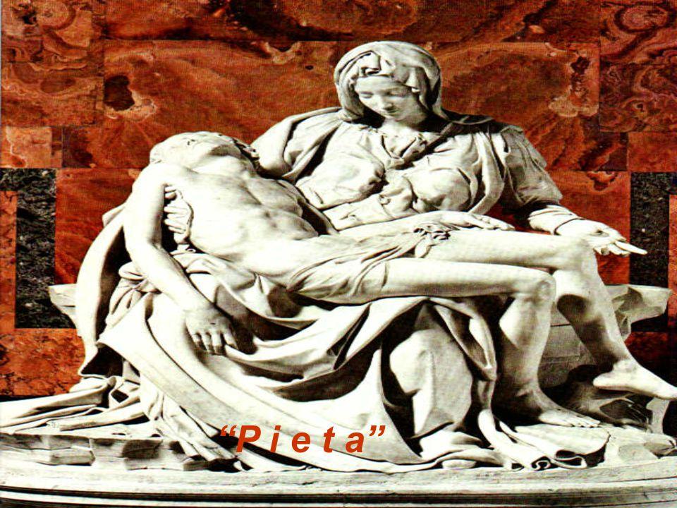 Setiap detil dari bagian patung Pieta dicermati selama berbulan- bulan agar dapat menangkap ekspresi roh dari Michelangelo