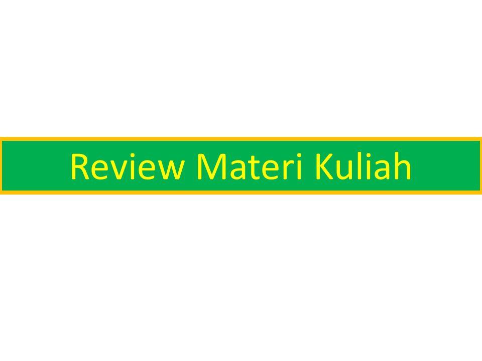 Review Materi Kuliah