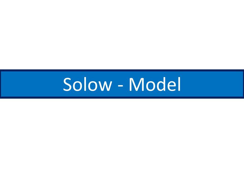 Solow - Model