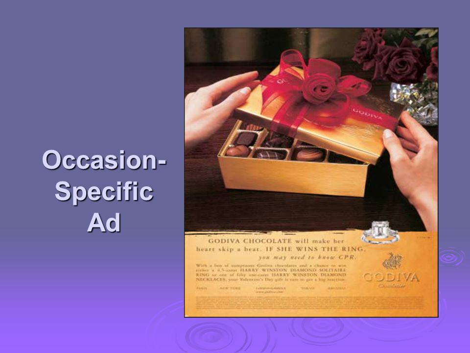 Occasion- Specific Ad