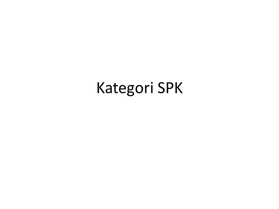 Kategori SPK
