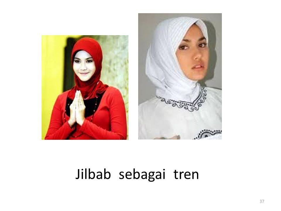 Jilbab sebagai tren 37