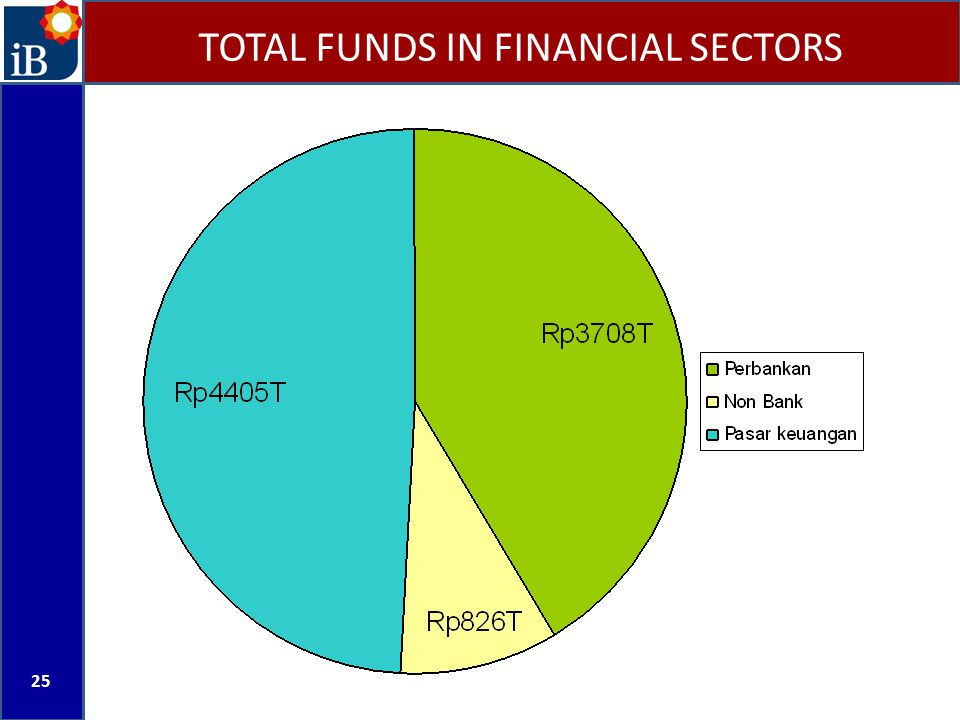 TOTAL FUNDS IN FINANCIAL SECTORS 25