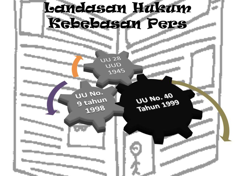 Landasan Hukum Kebebasan Pers