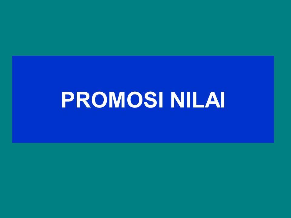 PROMOSI NILAI
