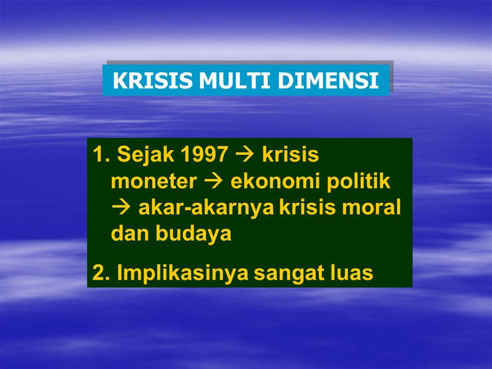 KRISIS MULTI DIMENSI 1.