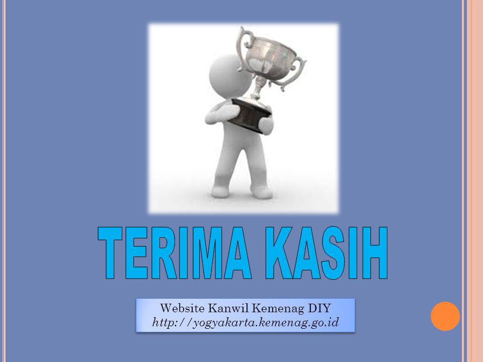 Website Kanwil Kemenag DIY http://yogyakarta.kemenag.go.id Website Kanwil Kemenag DIY http://yogyakarta.kemenag.go.id