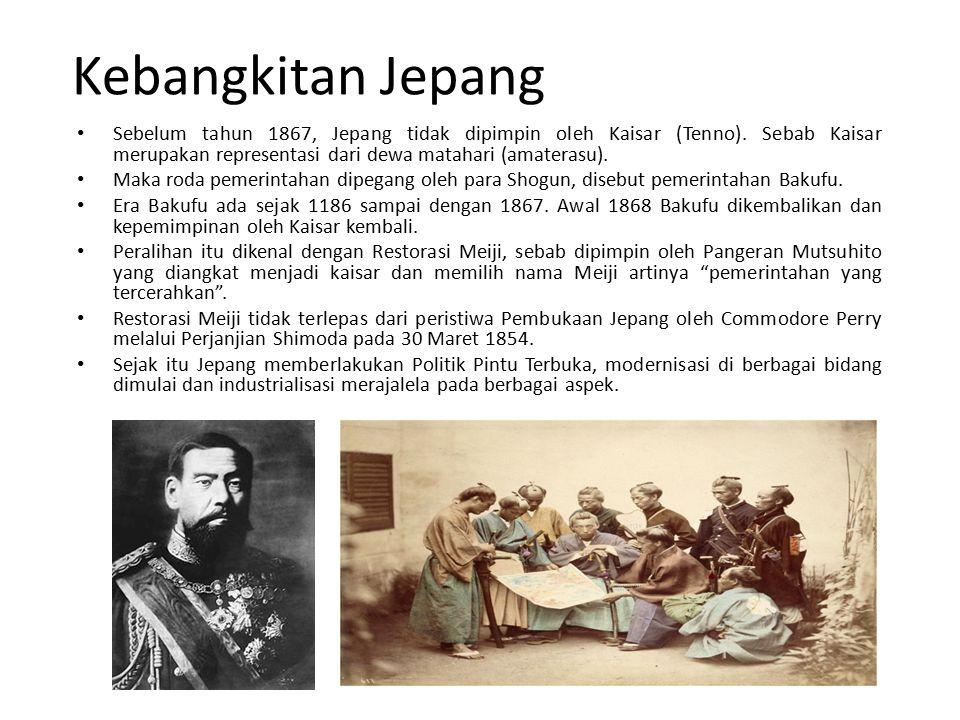Kebangkitan Jepang Sebelum tahun 1867, Jepang tidak dipimpin oleh Kaisar (Tenno).