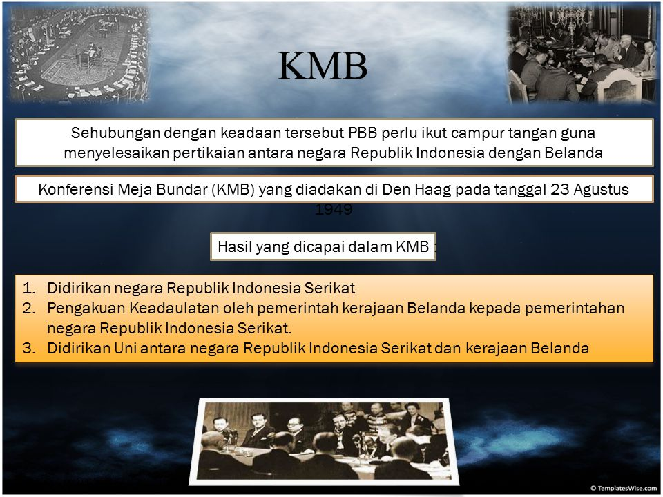 Sehubungan dengan keadaan tersebut PBB perlu ikut campur tangan guna menyelesaikan pertikaian antara negara Republik Indonesia dengan Belanda Konferen