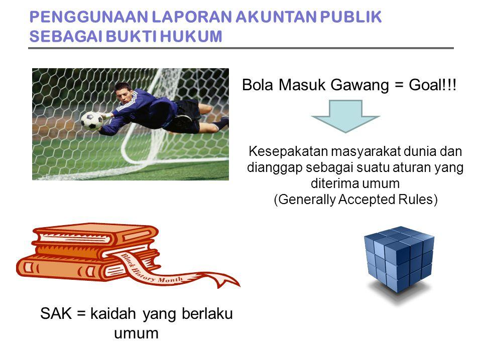 Bola Masuk Gawang = Goal!!.