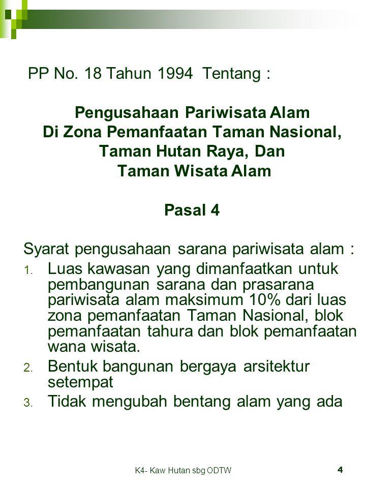 K4- Kaw Hutan sbg ODTW4 PP No.