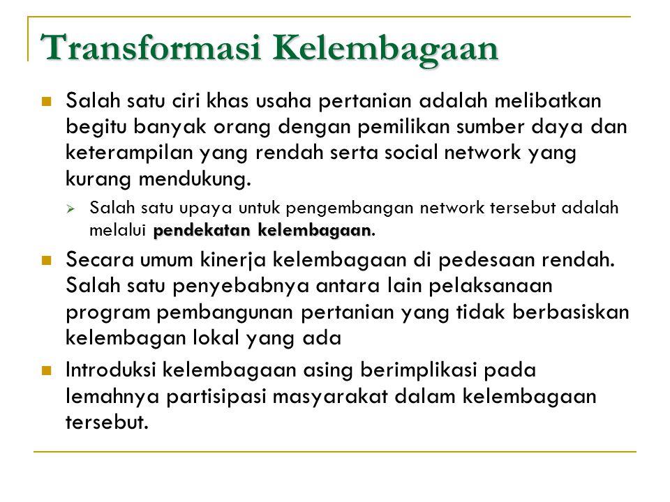 Sistim sosial, sistim pasar, dan sistim budaya akan saling mempengaruhi. Hayami dan Kikuchi (1986), menyatakan bahwa faktor faktor ekonomi termasuk di
