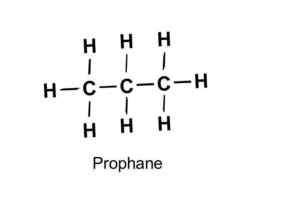 C HH H Prophane C C H H H H H