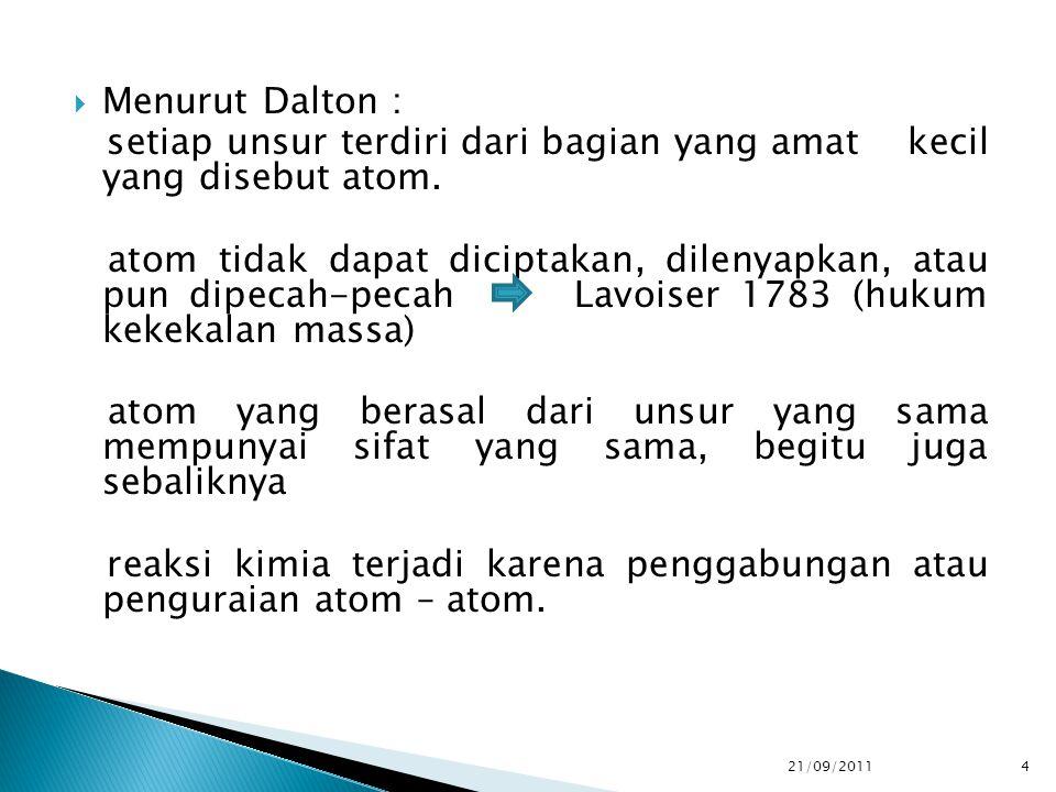  MENGETAHUI JUMLAH ZAT YG DINYATAKAN DALAM BERBAGAI BENTUK  PENDEKATAN KUANTITATIF HITUNGAN KIMIA LEBIH SEDERHANA  DINYATAKAN DALAM SATUAN MOL  BOBOT ATOM / ATOM RELATIF(BA/AR)  BOBOT MOLEKUL / MOLEKUL RELATIF (BM/MR) 21/09/2011 15