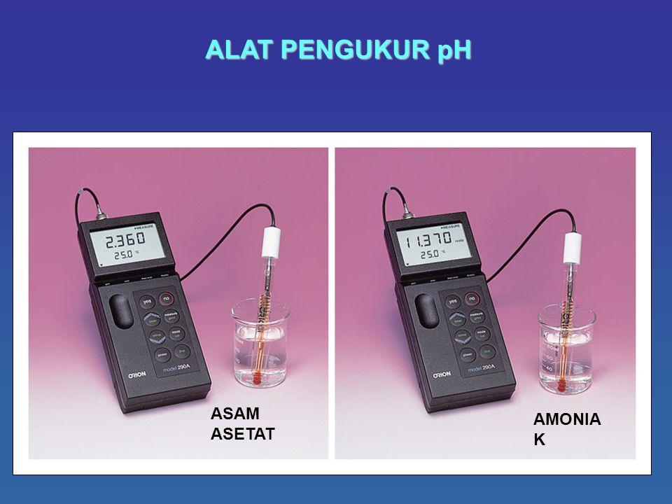 58 ALAT PENGUKUR pH ASAM ASETAT AMONIA K