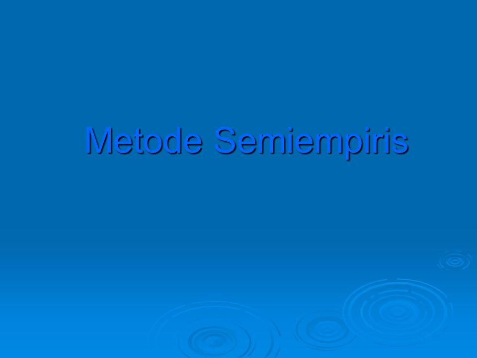 Metode Semiempiris