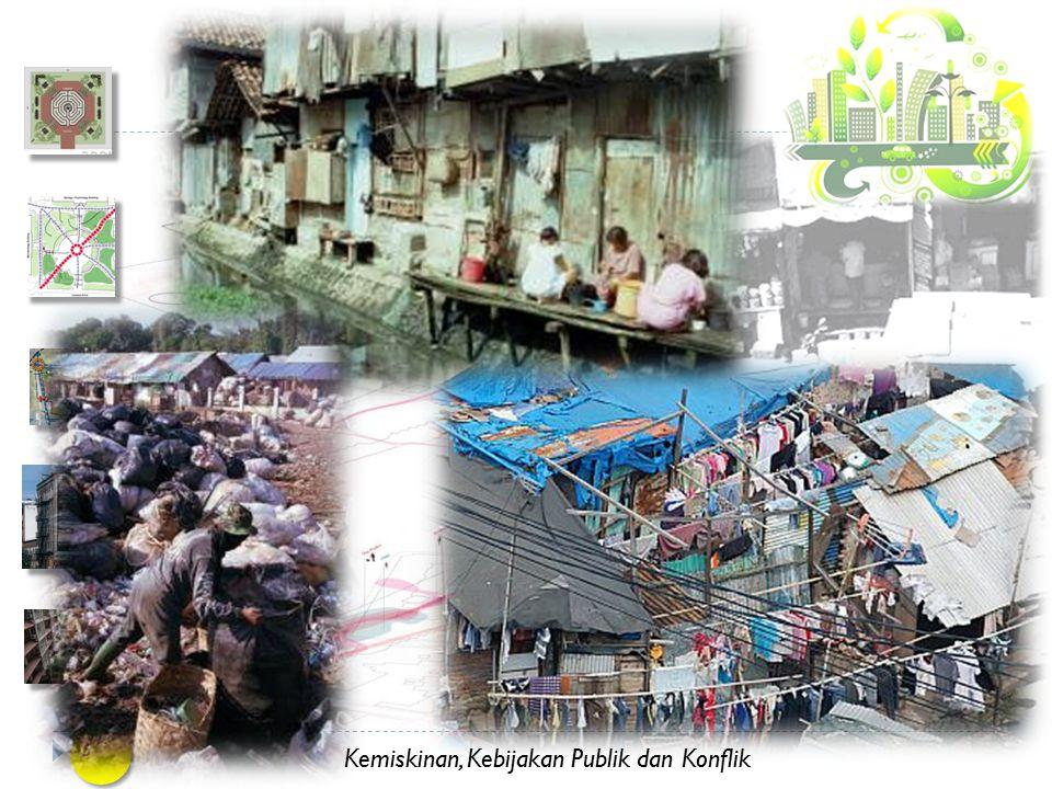 Kemiskinan, Kebijakan Publik dan Konflik 14 JAMINAN KEPEMILIKAN ANCAMAN PENGGUSURAN.
