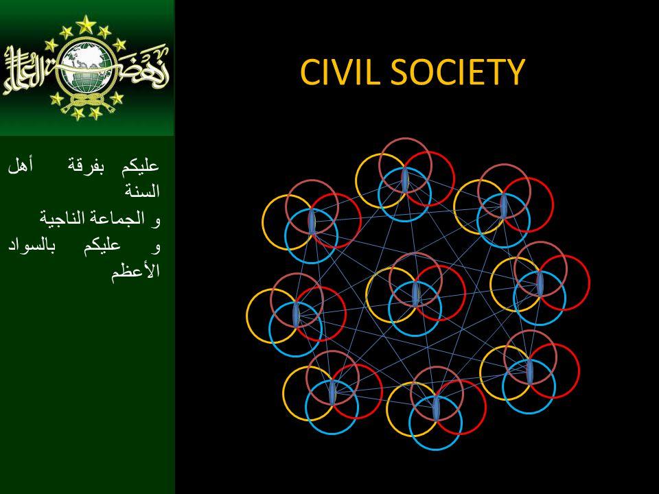 CIVIL SOCIETY عليكم بفرقة أهل السنة و الجماعة الناجية و عليكم بالسواد الأعظم