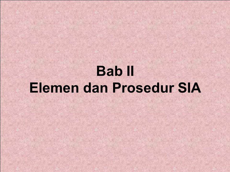 Bab II Elemen dan Prosedur SIA