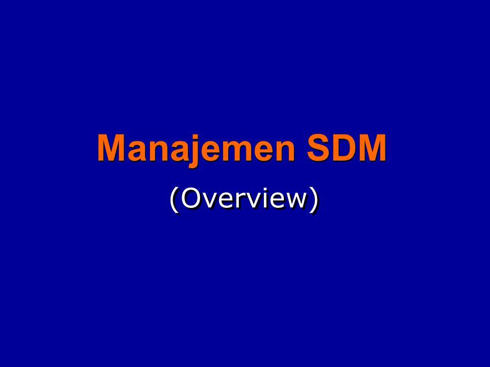 Manajemen SDM (Overview)