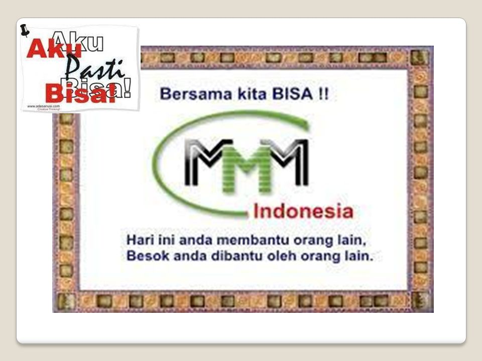 MMM MEMBANTU MEMAKMURKAN MASYARAKAT FORUM KOMUNIKASI PERSAUDARAAN INDONESIA DEPOK, 26 APRiL 2014