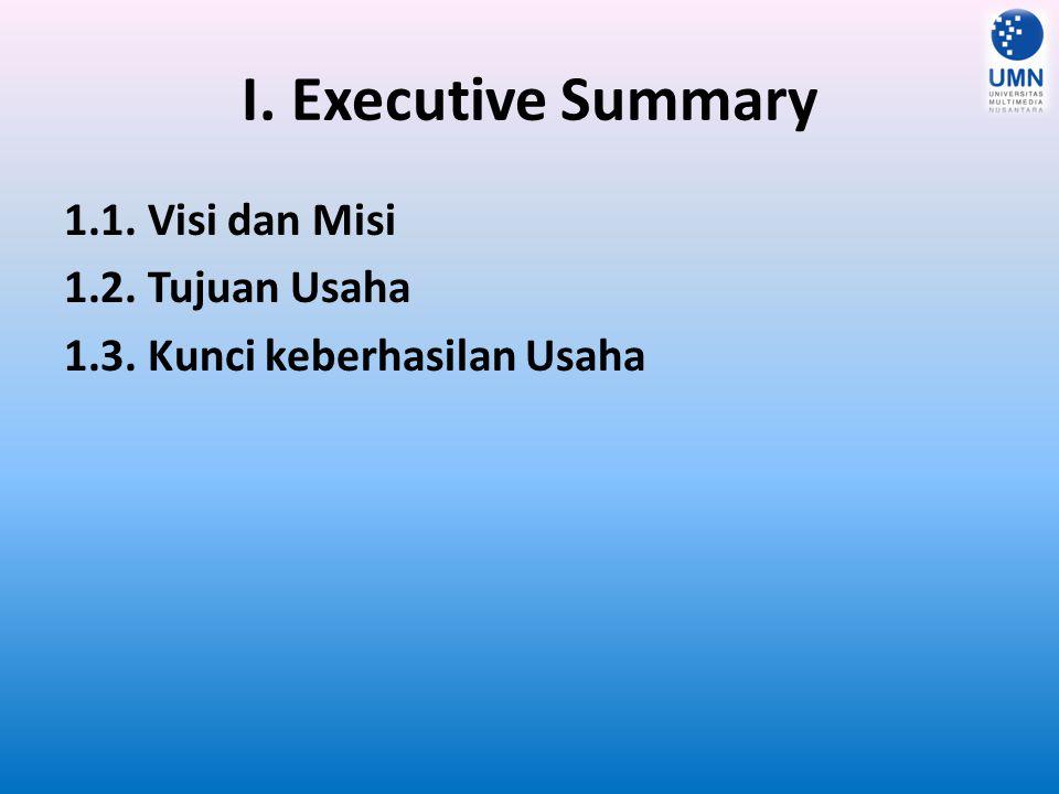 II.Gambaran Umum Perusahaan (Company Summary) 2.1.