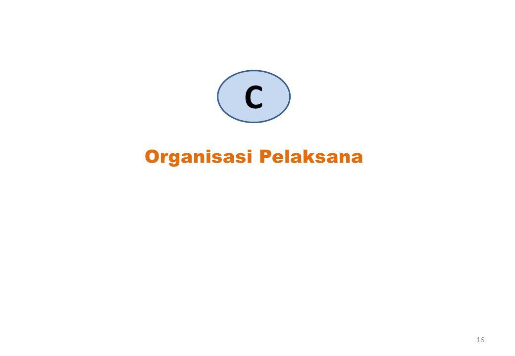 Organisasi Pelaksana C 16