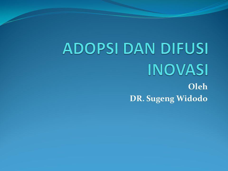 Oleh DR. Sugeng Widodo