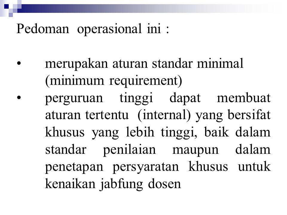 Kriteria prosiding seminar Nasional -Ditulis dalam bahasa indonesia -Ada editor yang sesuai dengan bidang ilmunya -Memiliki ISBN -Diterbitkan oleh lembaga ilmiah yang bereputasi 1).Kriteria a.makalah disajikan dalam seminar dan dimuat dalam prosiding seminar, atau b.dimuat dalam buku dalam suatu topik bahasan tertentu, diterbitkan dan diedarkan secara nasional 2)Bukti Kegiatan : a.dalam bentuk prosiding (1)Prosiding asli (lengkap), atau; (2)Fotokopi artikel (makalah) dengan cover dan dan daftar isi prosiding (3)Sertifikat bukti penyajian makalah dari panitia seminar b.dalam bentuk buku (1)buku yang memuat artikel/makalah seminar, atau: (2)reprint artikel yang dicetak oleh penerbit (asli) 3)Batas Kepatutan : 2 makalah persemester
