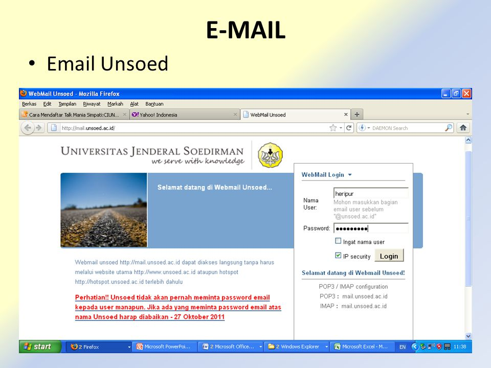E-MAIL Email Unsoed