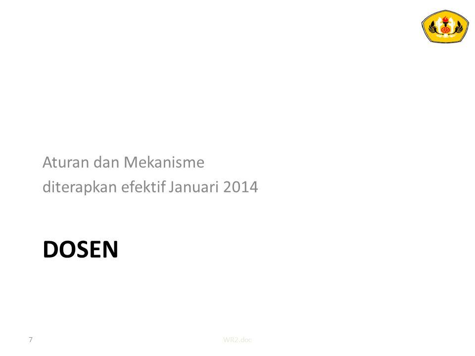 Tunjangan Dosen Tetap 18WR2.doc
