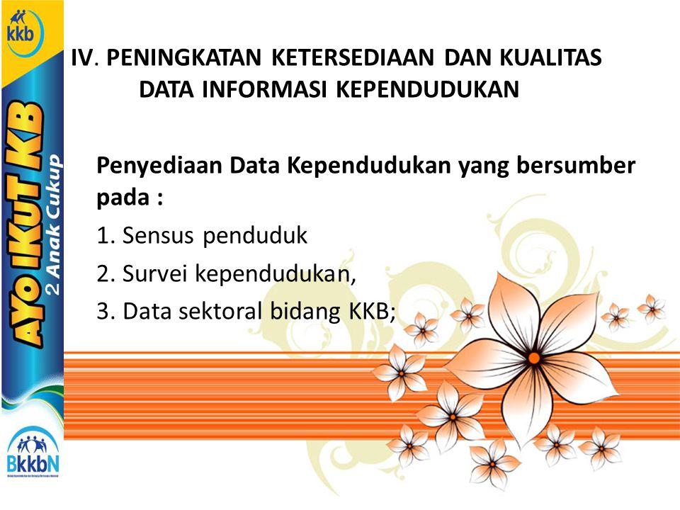 KEGIATAN PRIORITAS 1.Akselerasi Program KKB melalui intensifikasi penggarapan pembangunan KB, terutama dalam peningkatan penggerakan MKJP.