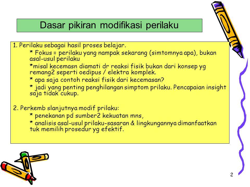 13 Contoh analisis fungsi (2) 1.Antecedent: Di kampus, bertemu / dipanggil Mr.