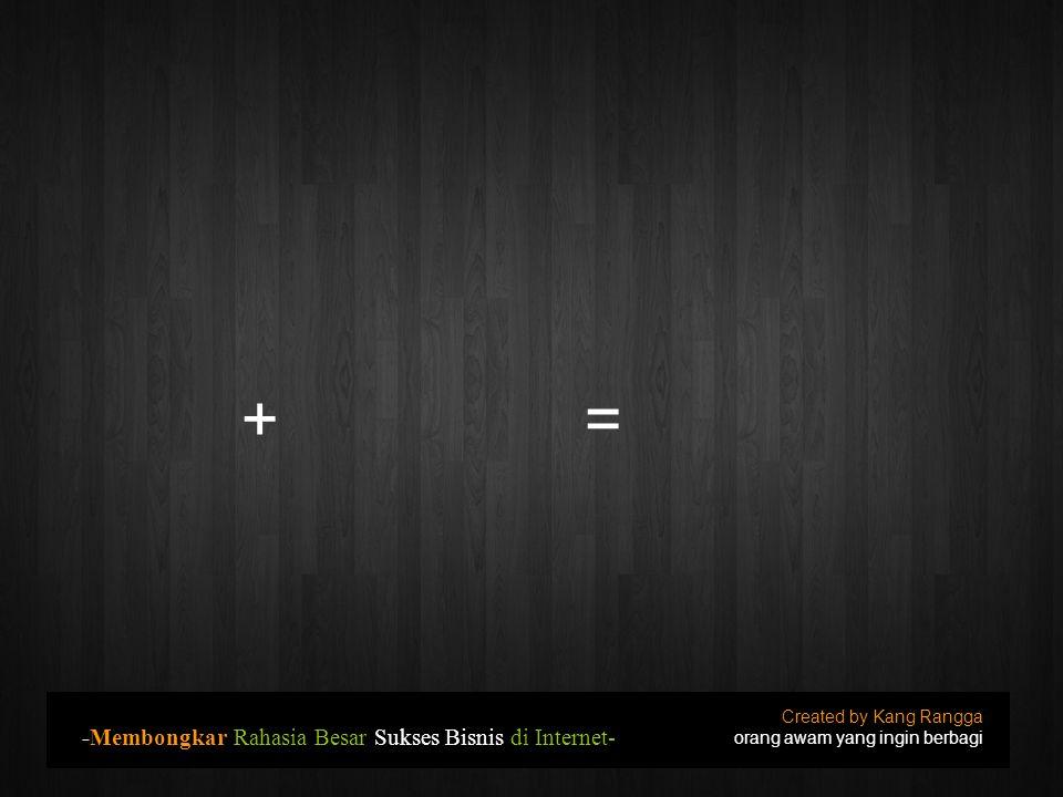 Pilih Template Created by Kang Rangga orang awam yang ingin berbagi -Tutorial membuat BLOG untuk Pemula-