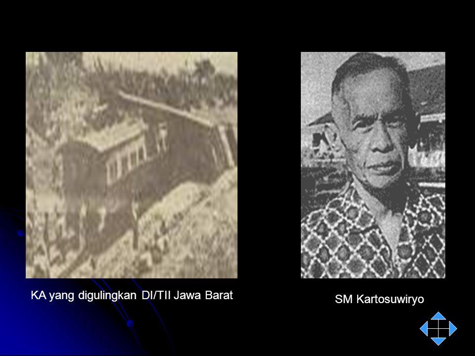 SM Kartosuwiryo KA yang digulingkan DI/TII Jawa Barat
