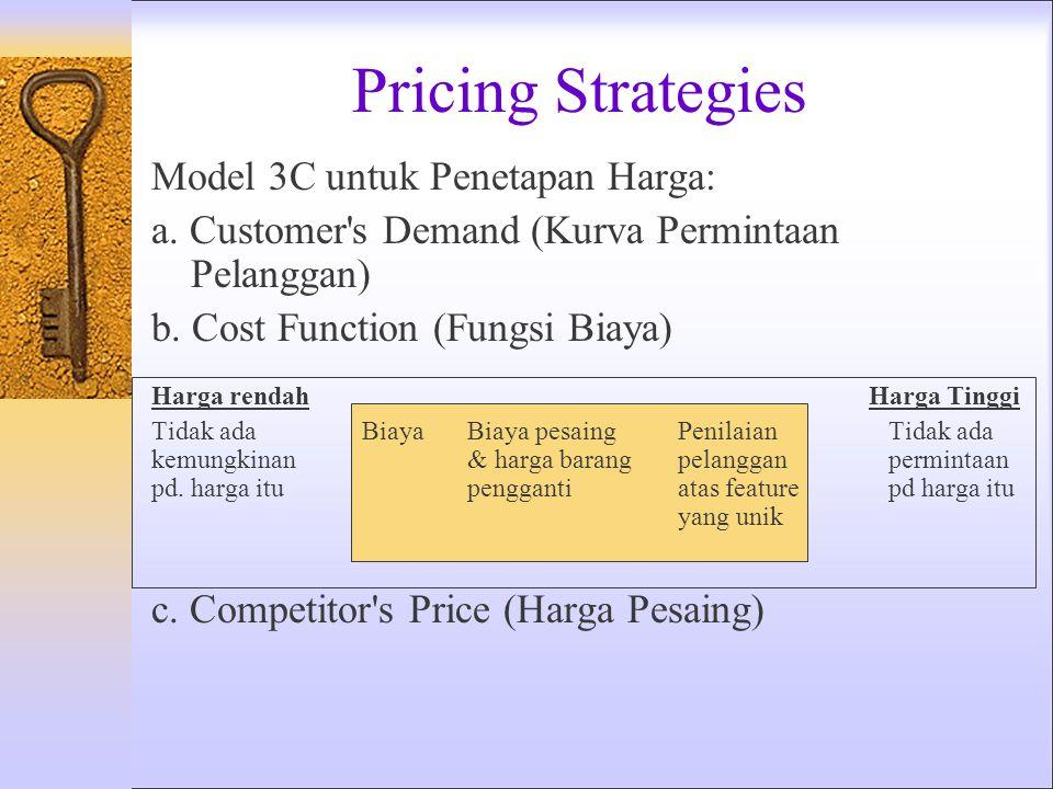 Product Strategies Strategi produk membutuhkan pengambilan keputusan yang terkoordinasi, terdiri atas: 1.Bauran Produk – Lebar, Panjang, Kedalaman dan