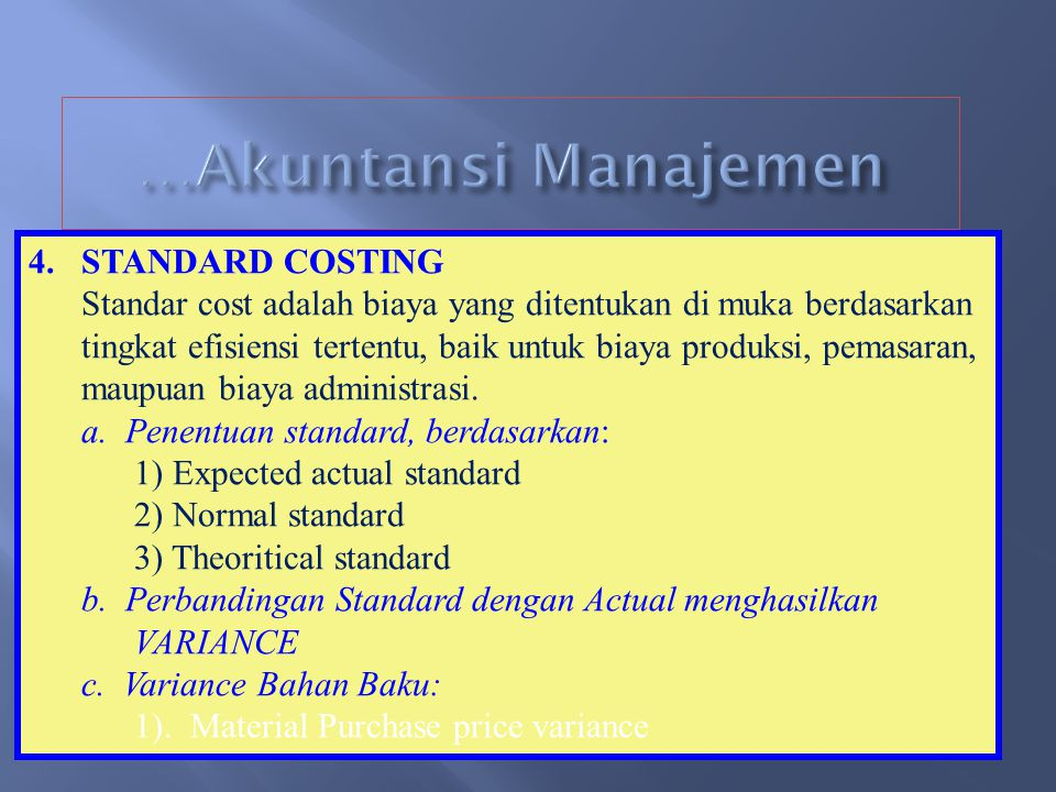 Contoh Anggaran Produksi PT ABC ANGGARAN PRODUKSI TAHUN 2008 Keterangan Produk AProduk BProduk C Memenuhi pejualan1.0002.0003.000 Memenuhi Persediaan